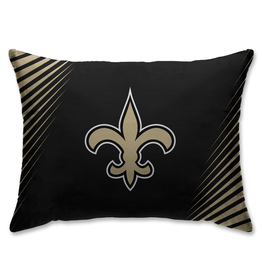 HOVER HELMETS New Orleans Saints Side Streak Microplush Pillow Protector