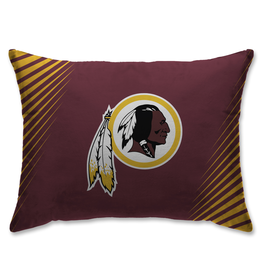 HOVER HELMETS Washington Redskins Side Streak Microplush Pillow Protector