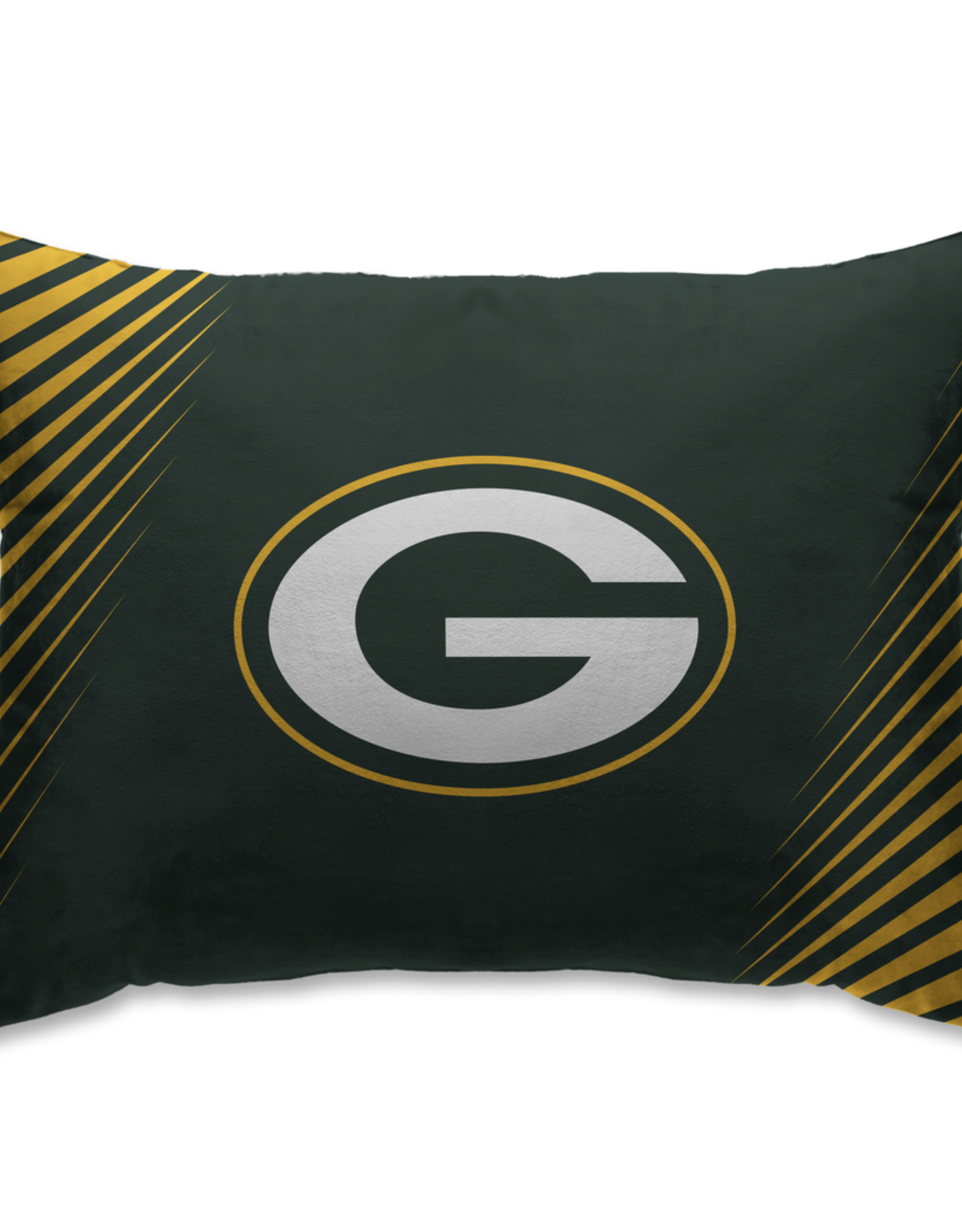 HOVER HELMETS Green Bay Packers Side Streak Microplush Pillow Protector