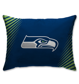 HOVER HELMETS Seattle Seahawks Side Streak Microplush Pillow Protector