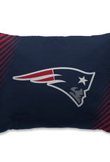 HOVER HELMETS New England Patriots Side Streak Microplush Pillow Protector