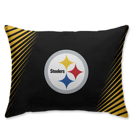 HOVER HELMETS Pittsburgh Steelers Side Streak Microplush Pillow Protector