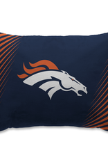 HOVER HELMETS Denver Broncos Side Streak Microplush Pillow Protector