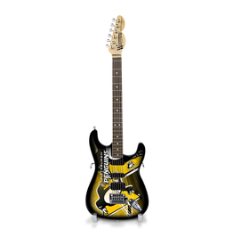 SPORTS VAULT CORP Pittsburgh Penguins Woodrow Mini Guitar