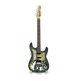 SPORTS VAULT CORP Green Bay Packers Woodrow Mini Guitar
