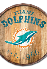 "FAN CREATIONS Miami Dolphins 16"" Cracked Barrel Top -EST"