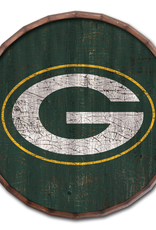 """FAN CREATIONS Green Bay Packers 24"""" Cracked Barrel Top - TC"""