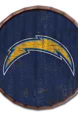 "FAN CREATIONS Los Angeles Chargers 24"" Cracked Barrel Top - TC"