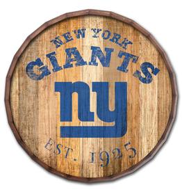 "FAN CREATIONS New York Giants 16"" Cracked Barrel Top -EST"