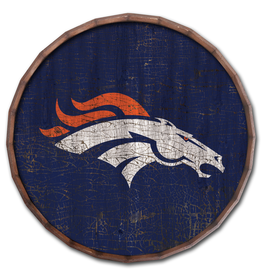 "FAN CREATIONS Denver Broncos 16"" Cracked Barrel Top - TC"
