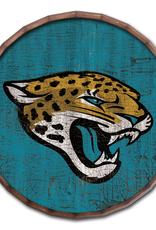 "FAN CREATIONS Jacksonville Jaguars 16"" Cracked Barrel Top - TC"