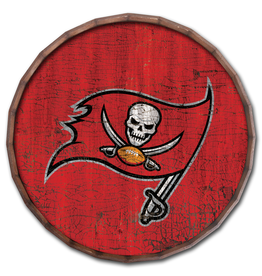 "FAN CREATIONS Tampa Bay Buccaneers 16"" Cracked Barrel Top - TC"