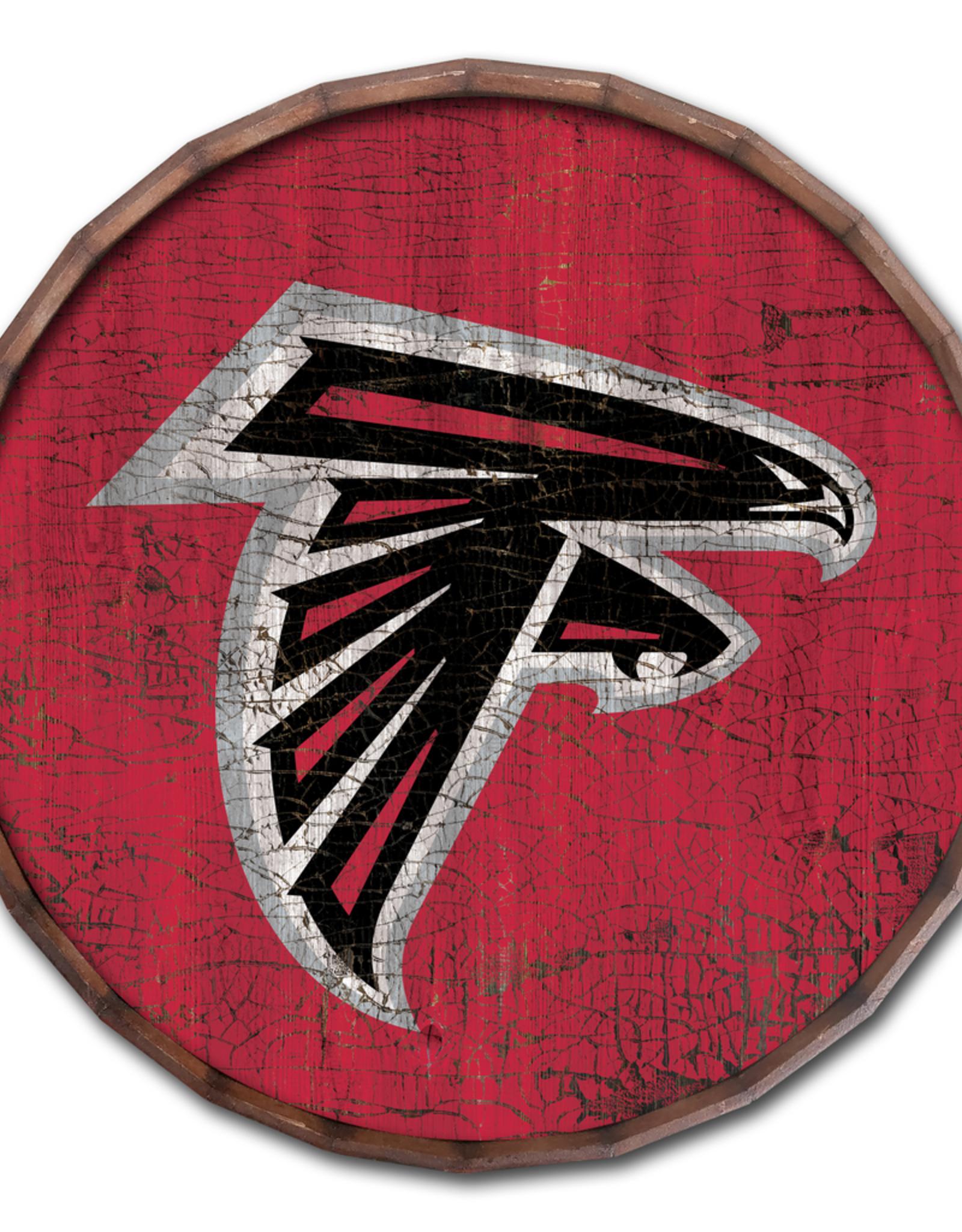 """FAN CREATIONS Atlanta Falcons 24"""" Cracked Barrel Top - TC"""