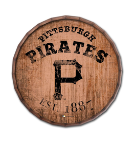 """FAN CREATIONS Pittsburgh Pirates 16"""" Cracked Barrel Top -EST"""