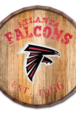 """FAN CREATIONS Atlanta Falcons 16"""" Cracked Barrel Top -EST"""