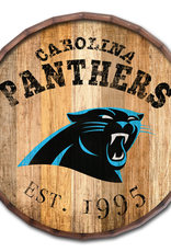 "FAN CREATIONS Carolina Panthers 16"" Cracked Barrel Top -EST"