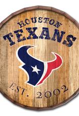 "FAN CREATIONS Houston Texans 16"" Cracked Barrel Top -EST"
