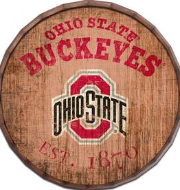 "FAN CREATIONS Ohio State Buckeyes 16"" Cracked Barrel Top -EST"