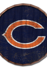 "FAN CREATIONS Chicago Bears 24"" Cracked Barrel Top - TC"