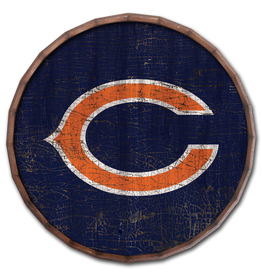 """FAN CREATIONS Chicago Bears 24"""" Cracked Barrel Top - TC"""