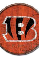 """FAN CREATIONS Cincinnati Bengals 24"""" Cracked Barrel Top - TC"""