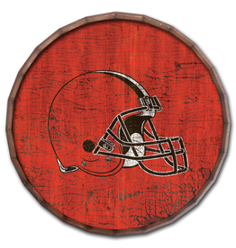 "FAN CREATIONS Cleveland Browns 24"" Cracked Barrel Top - TC"