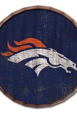"FAN CREATIONS Denver Broncos 24"" Cracked Barrel Top - TC"