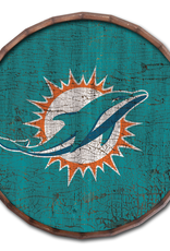 "FAN CREATIONS Miami Dolphins 24"" Cracked Barrel Top - TC"