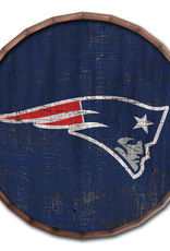 "FAN CREATIONS New England Patriots 24"" Cracked Barrel Top - TC"