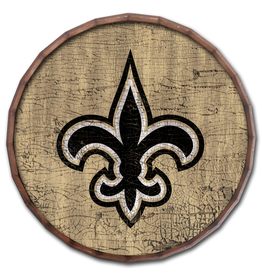 "FAN CREATIONS New Orleans Saints 24"" Cracked Barrel Top - TC"