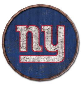 "FAN CREATIONS New York Giants 24"" Cracked Barrel Top - TC"