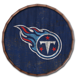 """FAN CREATIONS Tennessee Titans 24"""" Cracked Barrel Top - TC"""