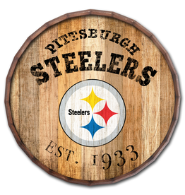 "FAN CREATIONS Pittsburgh Steelers 16"" Cracked Barrel Top -EST"