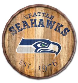 """FAN CREATIONS Seattle Seahawks 16"""" Cracked Barrel Top -EST"""