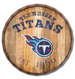 "FAN CREATIONS Tennessee Titans 16"" Cracked Barrel Top -EST"