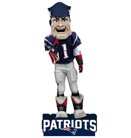EVERGREEN New England Patriots Mascot Statue