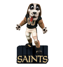EVERGREEN New Orleans Saints Mascot Statue