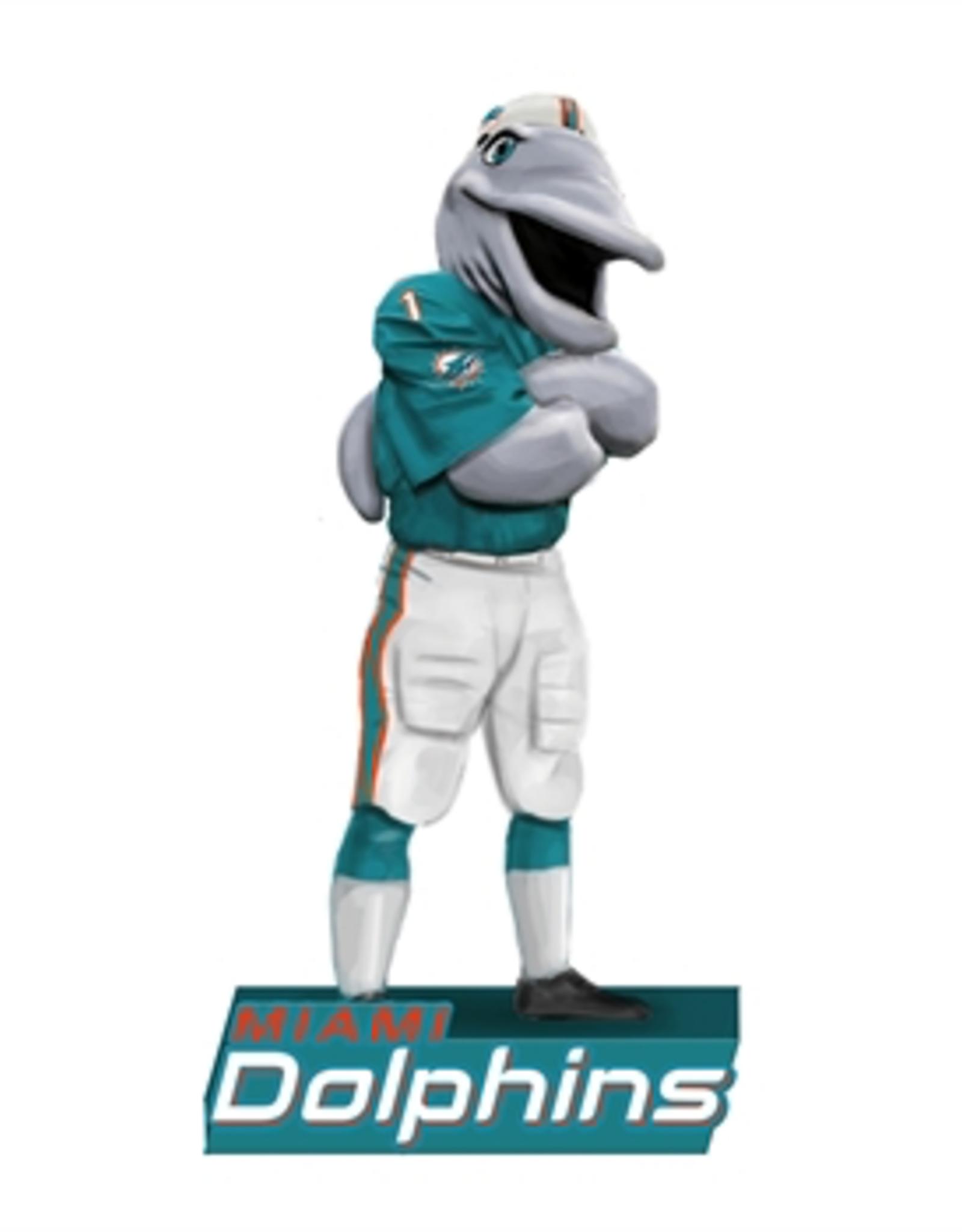 EVERGREEN Miami Dolphins Mascot Statue