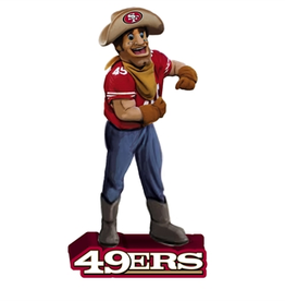EVERGREEN San Francisco 49ers Mascot Statue