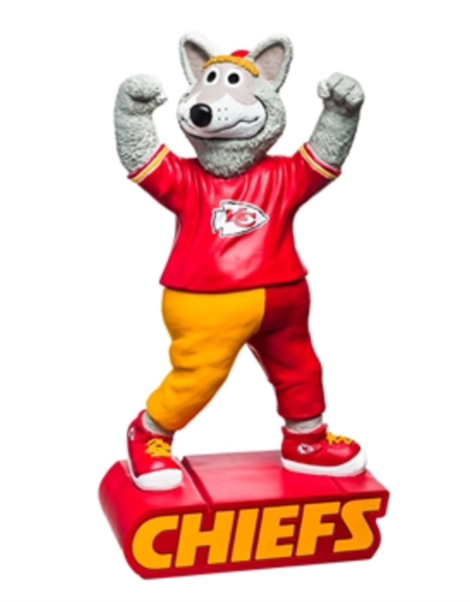 EVERGREEN Kansas City Chiefs Mascot Statue