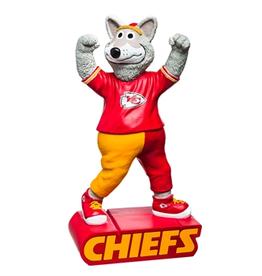 EVERGREEN Kansas City Chiefs Mascot Statue