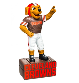 EVERGREEN Cleveland Browns Mascot Statue