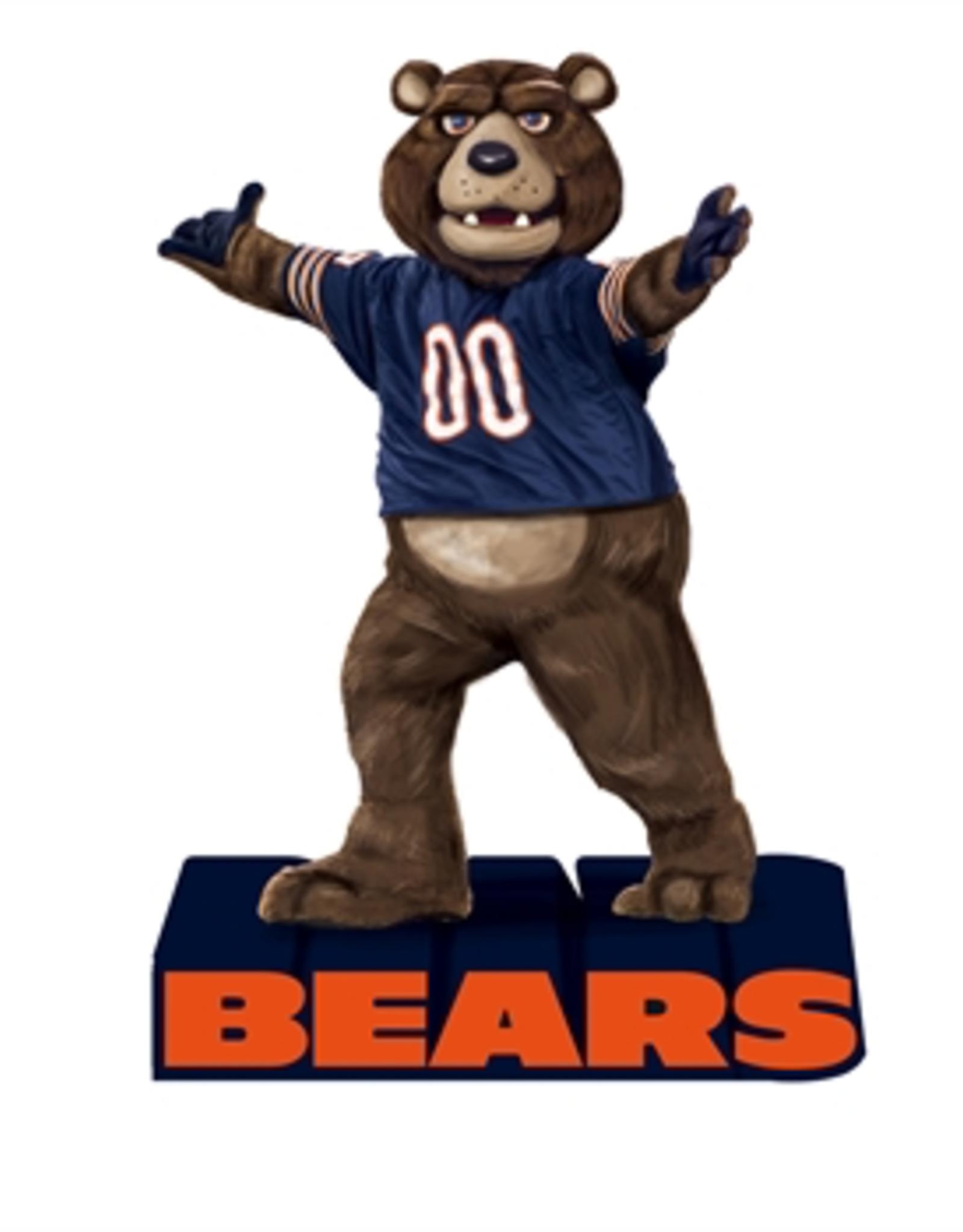 EVERGREEN Chicago Bears Mascot Statue