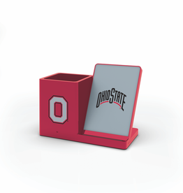 PRIME BRANDS GROUP Ohio State Buckeyes Wireless Charging Pen Holder