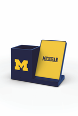 PRIME BRANDS GROUP University of Michigan Wolverines Wireless Charging Pen Holder