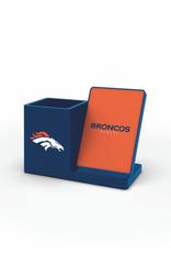 PRIME BRANDS GROUP Denver Broncos Wireless Charging Pen Holder