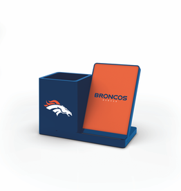 PRIME BRANDS GROUP Denver Broncos Wireless Charging Pen Holder