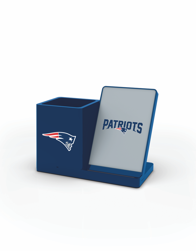 PRIME BRANDS GROUP New England Patriots Wireless Charging Pen Holder