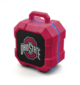 PRIME BRANDS GROUP Ohio State Buckeyes ShockBox LED Wireless Speaker