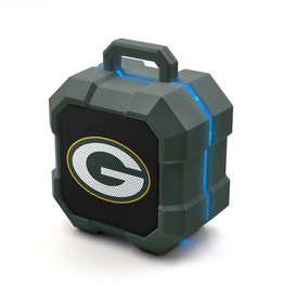 PRIME BRANDS GROUP Green Bay Packers ShockBox LED Wireless Speaker